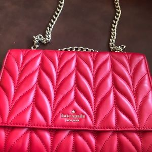 Kate Spade handbag can be worn as crossbody